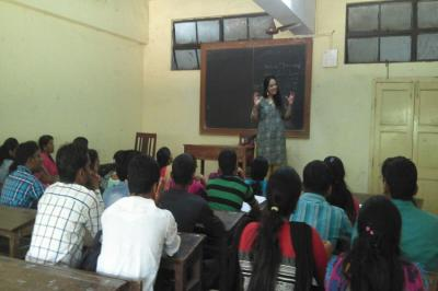 Guest lecture by Meghana mam from Jetking Institute on Personality Developement