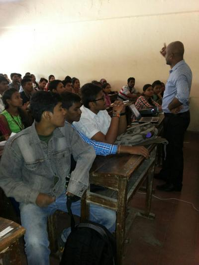 GuestLecture by SatyaPrakash Sir on Competetive Exam