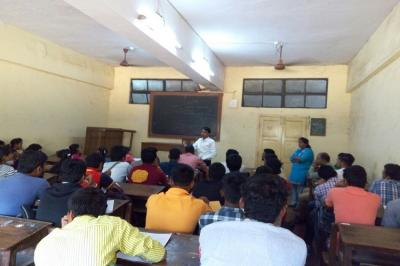 GuestLecture on Job opportuinities in IT sector by Jetking