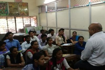 Training by TCS-BPS for T.Y.B.Com.students