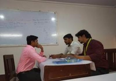 Campus Interview by Jetking & Pay Point Company in college-1