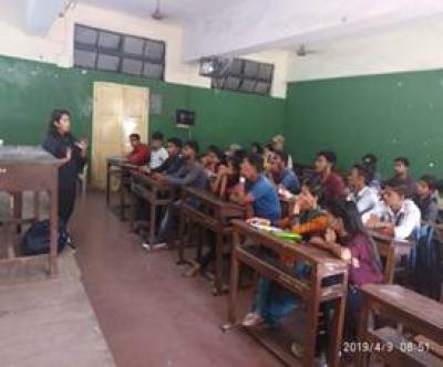 Lecture by Neha mam from POP shot comp