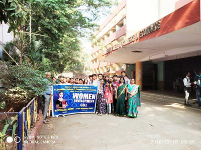 WDC celebrated International Human Rights Day & organised awareness Rally from Dr . Ambedkar College to SNDT college